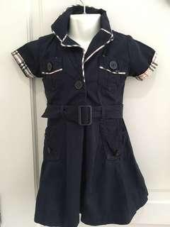 Burberry lookalike 12-18m baby Dress