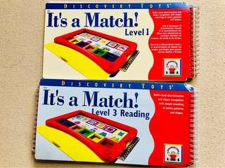 It's A Match! Deluxe Set by Discovery Toys