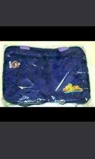 紫色bear多用袋/媽咪袋(紫色多格可上膊側孭)