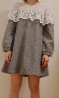 長袖洋裝 s號