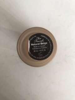 Too faced born this way foundation shade Natural beige