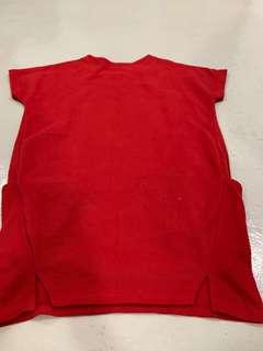 Red size M-L