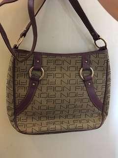 💯real FlON bag 長帶紫色懷舊款.新凈,祇SF 到付❤️👍