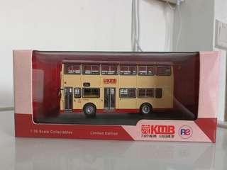 1:76利蘭奧林比安9.5米非空調巴士模型(順利至新蒲崗循環線)