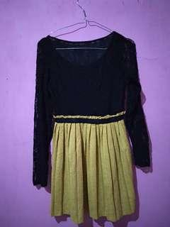 Brukat dress good condition