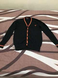 Jaket Cardigan Sweater Fred Perry