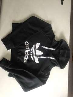 Adidas cropped jumper