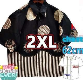 🚚 PO Batik tee / shirt 2xl jumbo / big size