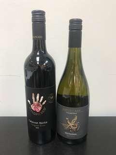 Premium White wine and red wine