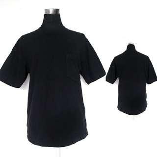Basic Uniqlo Mockneck Tshirt