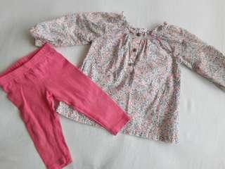 CARTER'S BABY GIRL SET