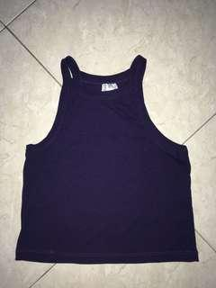Dark blue Tank top ,sleeveless top #everything18