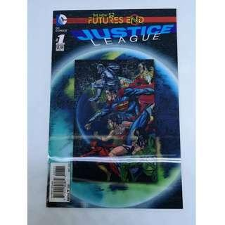 The New 52 Futures End Justice League #1 Lenticular Cover
