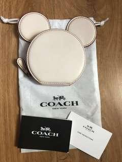 Coach x Mickey coin purse ( limited edition)