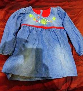 Baju bayi 9 bulan