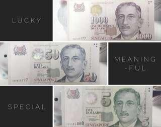 WTS Lucky Notes! Let me know what number you are collecting