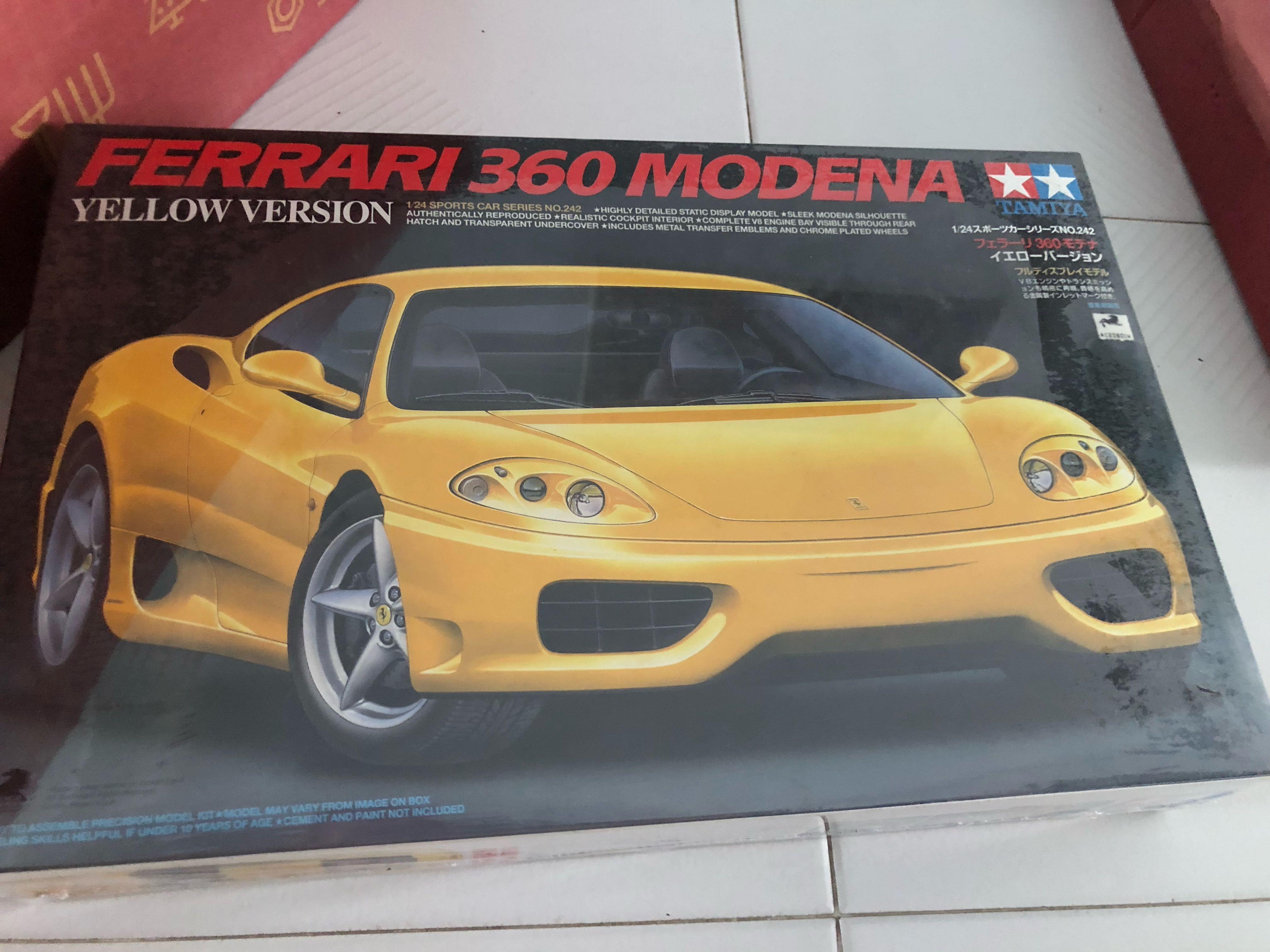 1 24 Tamiya Ferrari 360 Modena Toys Games Others On Carousell