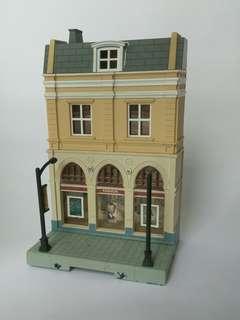 Diecast building
