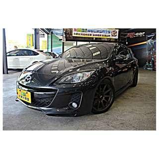 HOT大聯盟認證車 2011年 MAZDA3 5門 2.0 全車精品改裝 可全額貸 超額貸 免頭款交車