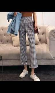 IS🌟Gingham Pants