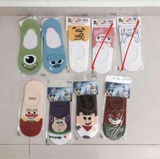 zootopia monster inc gudetama loafer korean socks