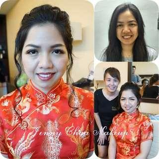 Bridal Makeup and Hairdo Dinner Service