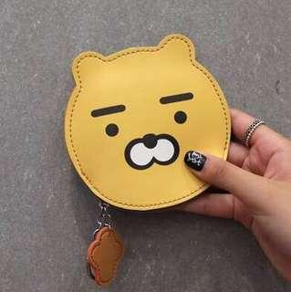 cute assorted design free pin coin pouch