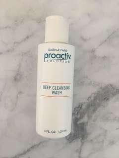 ❄️ Proactiv deep cleansing wash