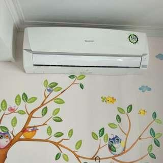 AC Sharp 1/2PK ex apartment Central park R-32 Eco
