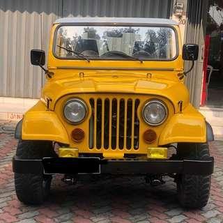 CJ7 diesel 1981