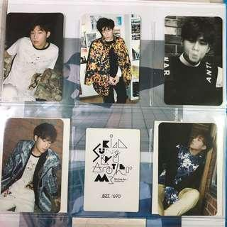 Infinite Kim Sunggyu 27 Album Photocard Full Set