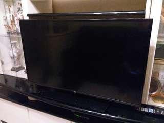 """9成新  43吋  LG 電視43LX761H (43"""") Full HD 高解析度畫質 TV , MADE IN KOREA(不能上網) (自取)"""