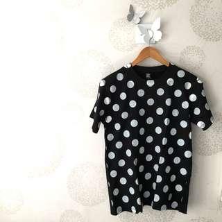 購自日本 Design Tshirts Store graniph 波點 tee
