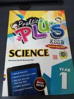 Standard 1 KSSR science reference book
