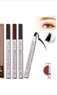 Free NM*BN Music Flower Microblading Waterproof Eyebrow Tattoo Pen  Long Lasting Cosmetic FORK DESIGN (free 2 pcs stencils w/every purchase!) Instock*1 for each colour only