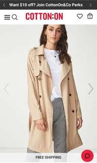 Cotton On Hannah Trench Coat
