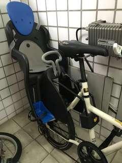 自行車快拆兒童安全座椅