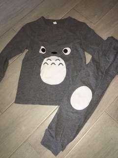 Totoro Pyjamas Sets 110cm 3-4y