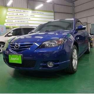 【派大星】2007 MAZDA 3 藍色 頂級