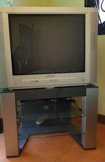 "TV w/ Rack 25"" Philips"