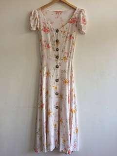 [REPRICED] Floral Midi Dress