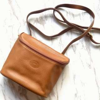 🈹🧡 Longchamp small leather bag with long strip