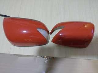 Honda Fit/Jazz原裝側倒鏡売橙色