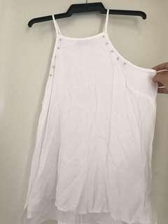 $5 COTTON ON HALTER NECK SHIRT SIZE SMALL