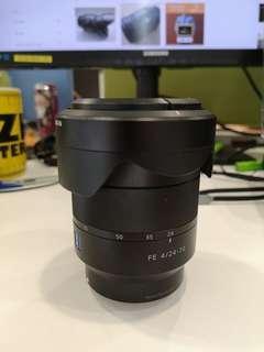 Sony FE SEL2470Z + Clear & ND Filter + Pouch