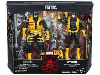 Marvel Legends Hydra Soldiers 2 Pack(available now)