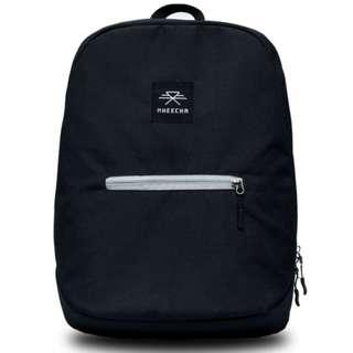 Black wiz backpack || Gifts for him || Black backpack || Cool backpacks || Street look || Water resistant || Made in Nepal || Comfortable backpack || Gifts || Laptop compartment