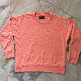 Cotton On Body Pink Peach Sweatshirt