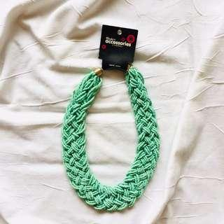 Sachi's Teal Necklace