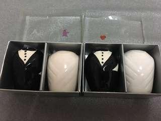 Wedding Salt & Pepper Shaker sets
